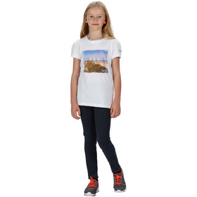 Regatta Bosley III Camiseta Niños, blanco